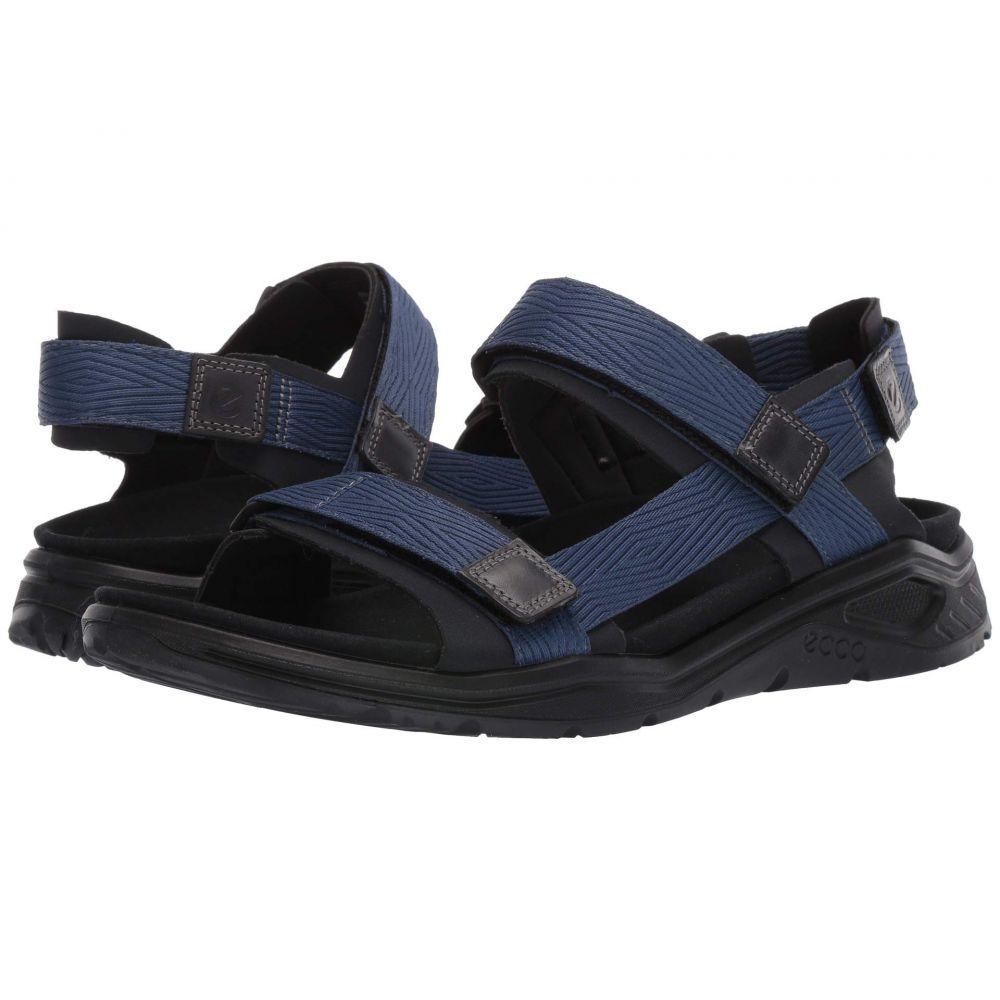 エコー ECCO Sport メンズ シューズ・靴 メンズ サンダル サンダル【X-Trinsic【X-Trinsic Textile Textile Strap Sandal】Black/True Navy Textile, イズミク:f2f3d5e4 --- sunward.msk.ru