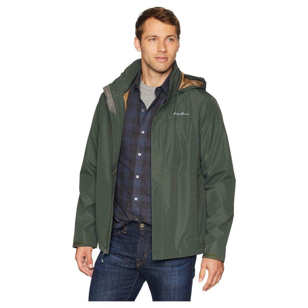 エディー バウアー Eddie Bauer メンズ アウター レインコート【Packable Rainfoil Jacket】Dark Loden
