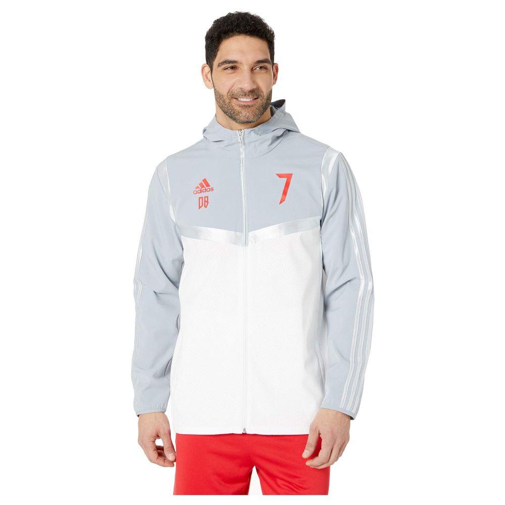 アディダス adidas Special Collections メンズ アウター ジャケット【Predator David Beckham Hooded Jacket】White/Light Grey