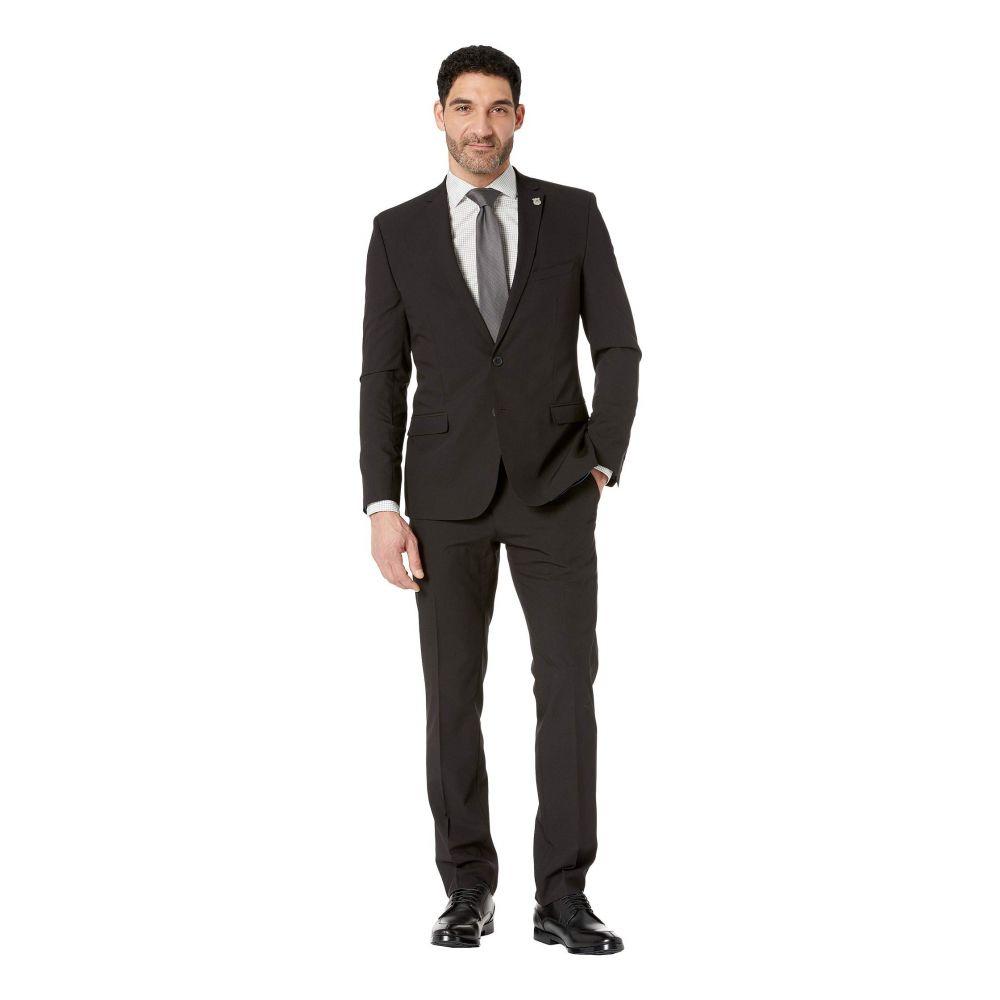 ニック グラハム Nick Graham メンズ アウター スーツ・ジャケット【Black Solid Suit】Black