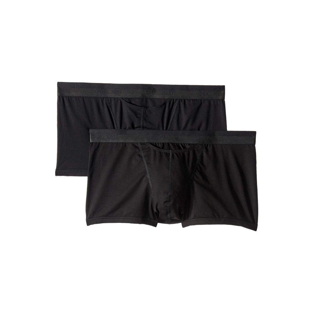 オム HOM メンズ インナー・下着 ボクサーパンツ【HO-1 Boxer Briefs 2-Pack】Black