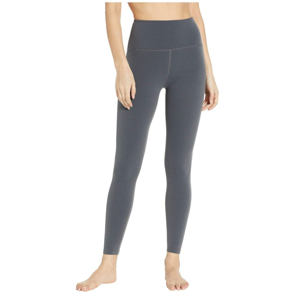 ビヨンドヨガ Beyond Yoga レディース インナー・下着 スパッツ・レギンス【High-Waisted Midi Leggings】Charcoal Heather Gray