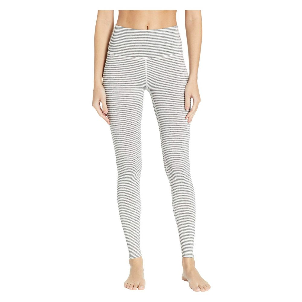 ビヨンドヨガ Beyond Surf Yoga High-Waisted レディース インナー・下着 スパッツ・レギンス【True Long To Stripe High-Waisted Long Leggings】White Heather Surf Stripe, 最高級:691d50de --- stilus-szenvedelye.hu