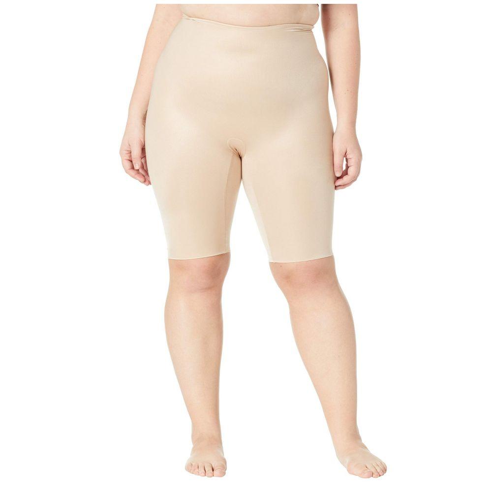 スパンクス Spanx レディース インナー・下着【Plus Size Power Conceal-Her Extended Length Shorts】Natural Glam