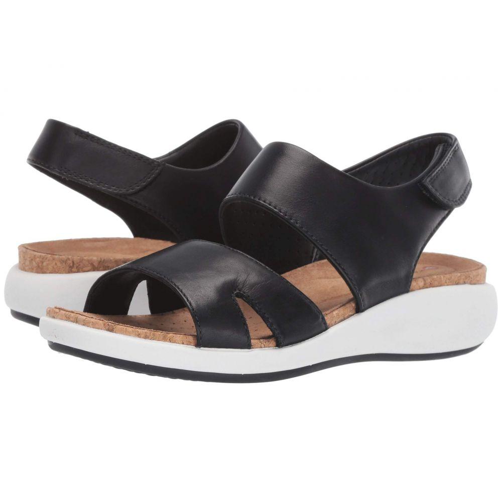 クラークス Clarks レディース シューズ・靴 サンダル・ミュール【Un Bali Sling】Black Leather