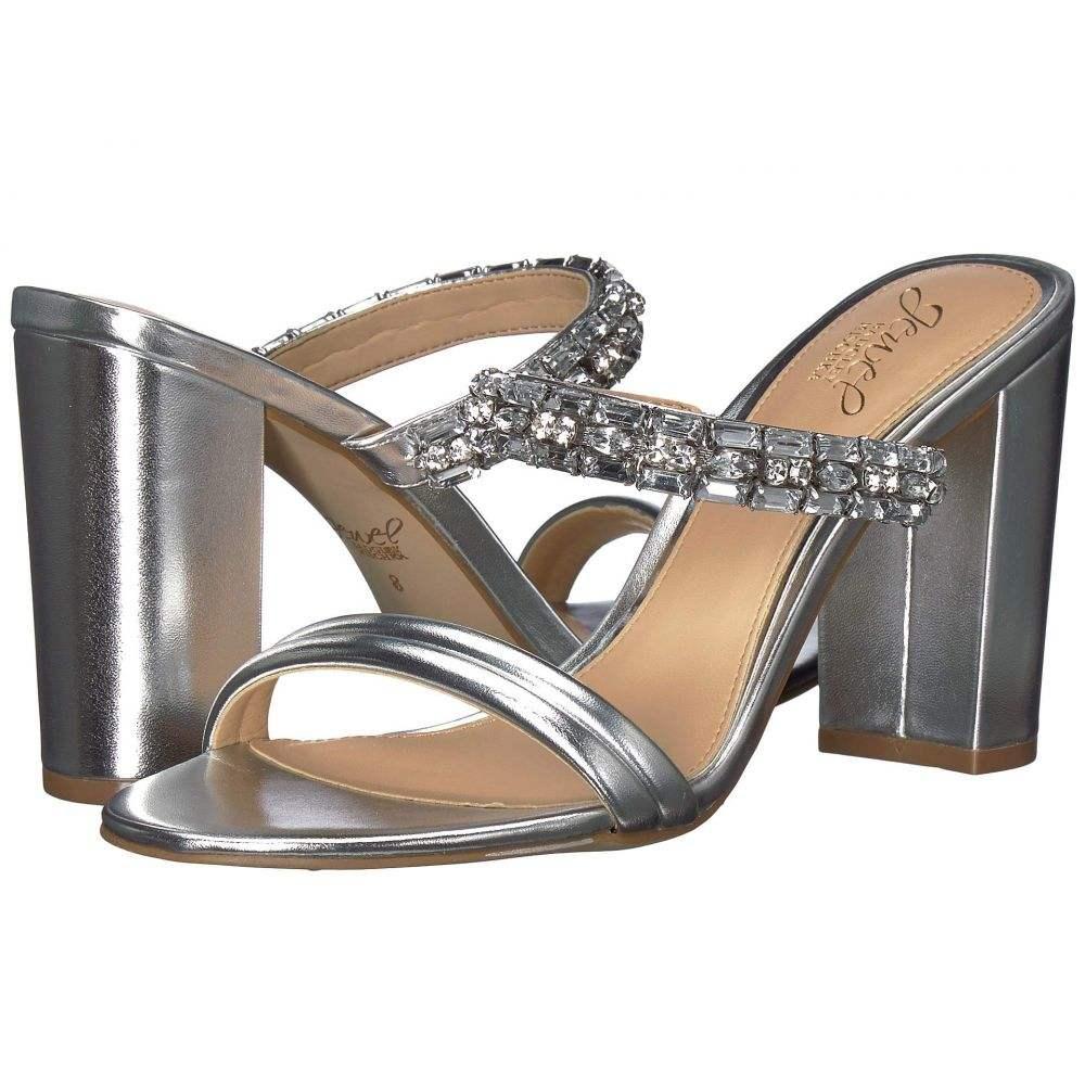 バッジェリー ミシュカ Jewel Badgley Mischka レディース シューズ・靴 サンダル・ミュール【Katherine】Silver