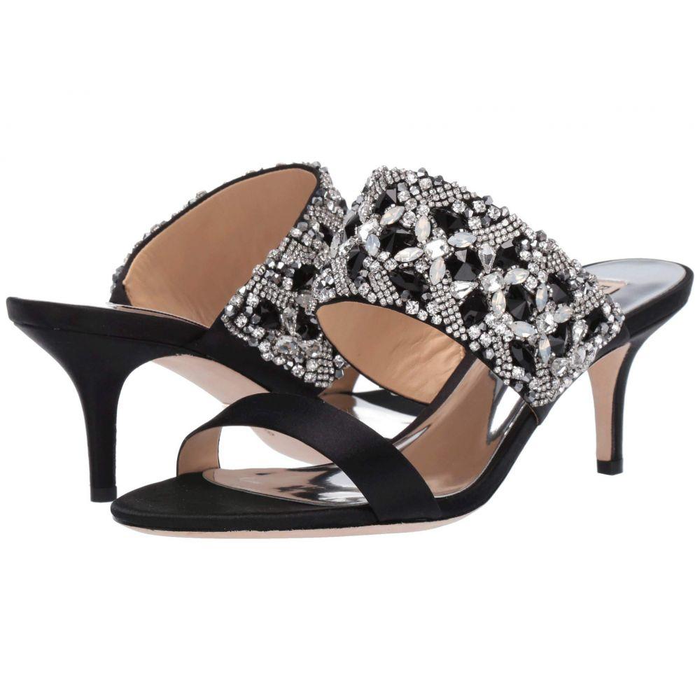 バッジェリー ミシュカ Badgley Mischka レディース シューズ・靴 サンダル・ミュール【Linda】Black Satin
