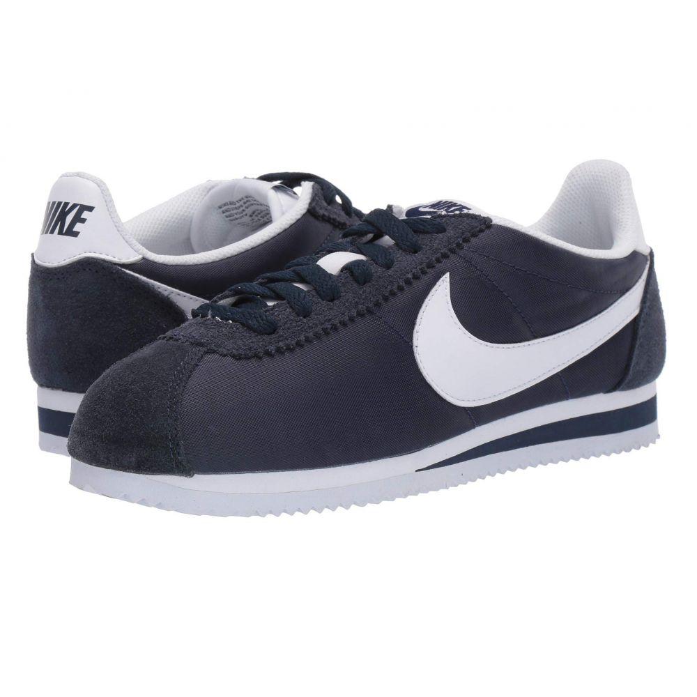 ナイキ Nike レディース シューズ・靴 スニーカー【Classic Cortez Nylon】Obsidian/White