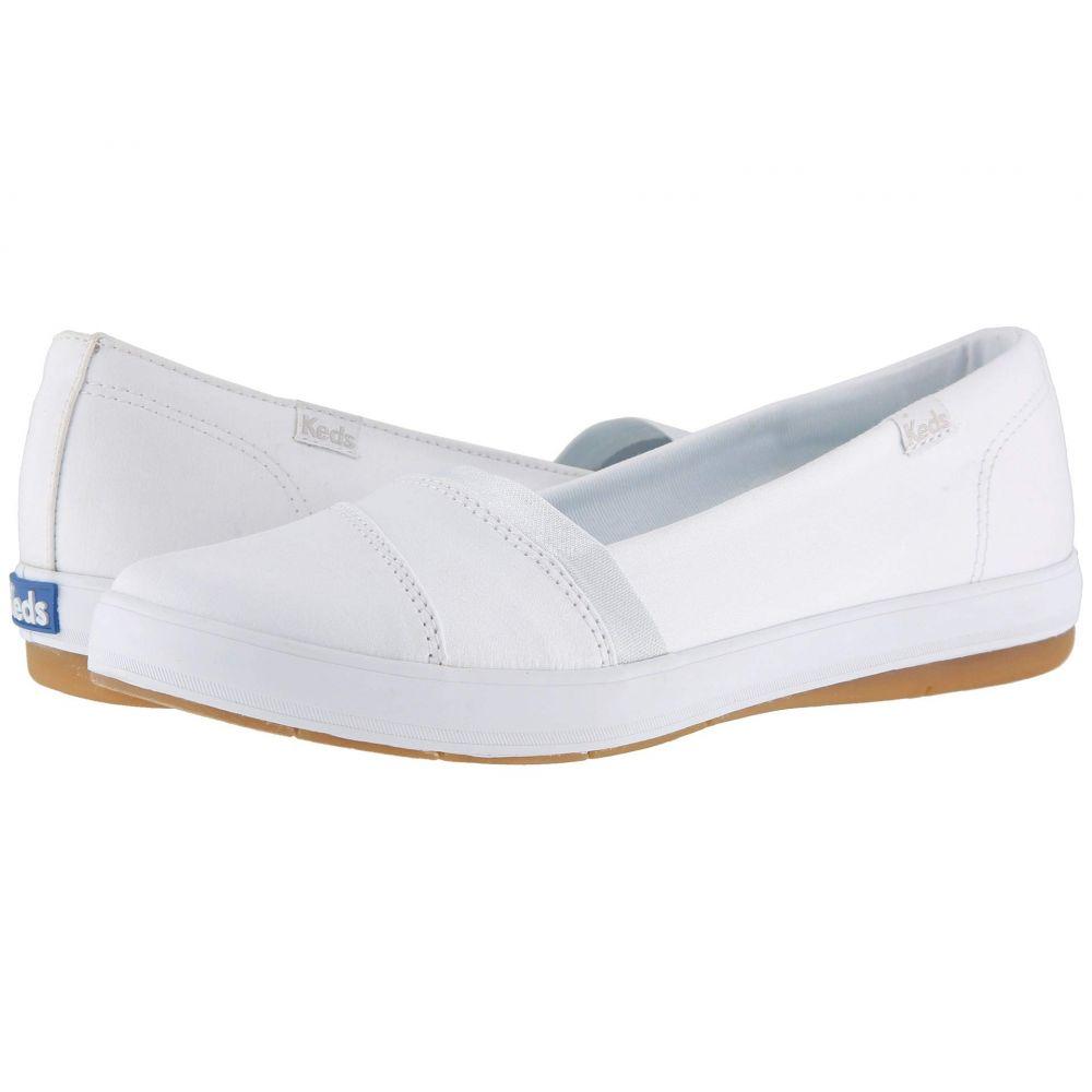 ケッズ Keds レディース シューズ・靴 スニーカー【Carmel Twill】White