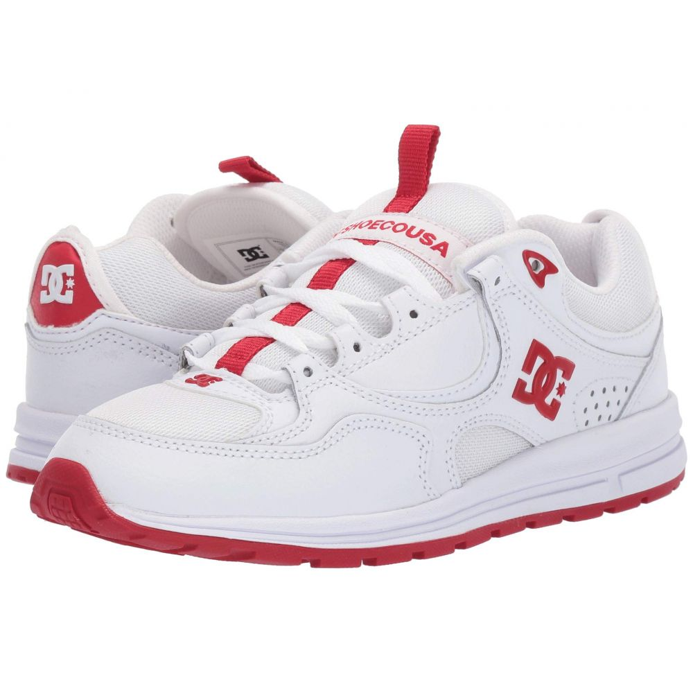 ディーシー DC レディース シューズ・靴 スニーカー【Kalis Lite】White/Red