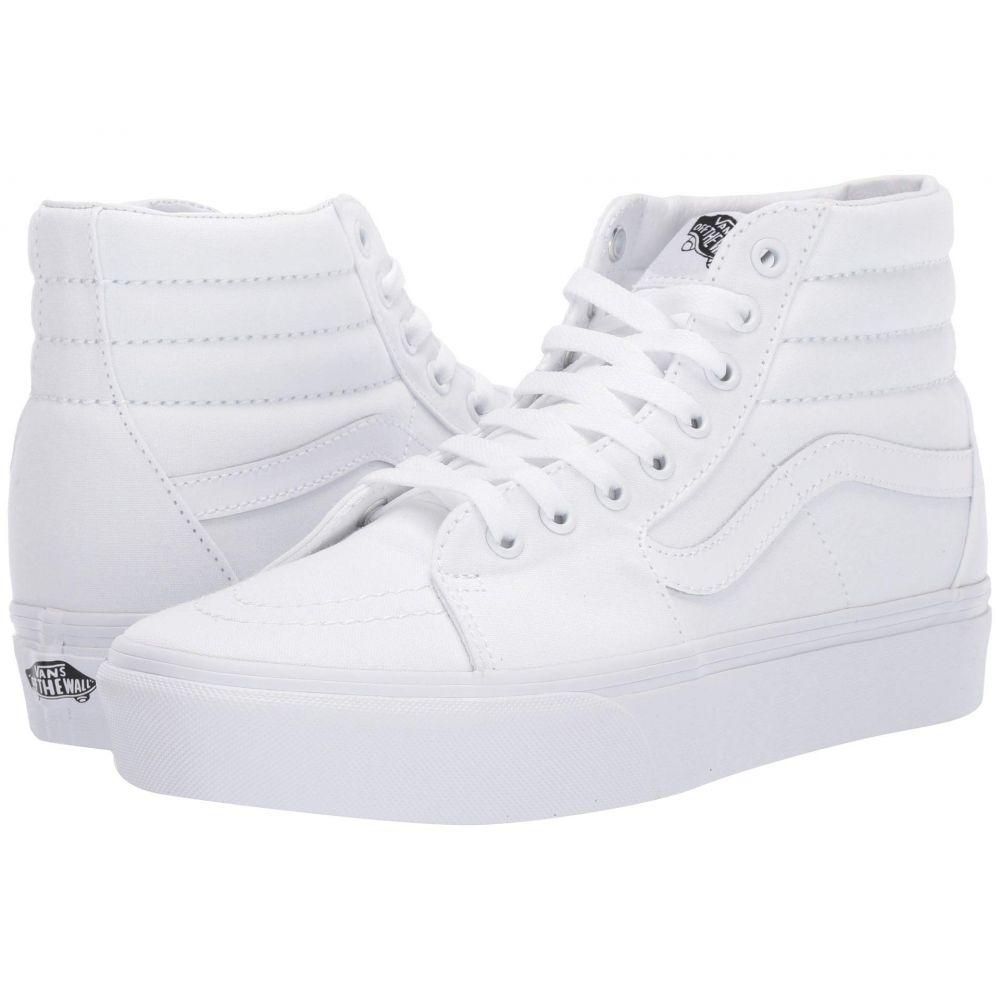 ヴァンズ Vans レディース シューズ・靴 スニーカー【SK8-Hi Platform 2.0】True White/True White