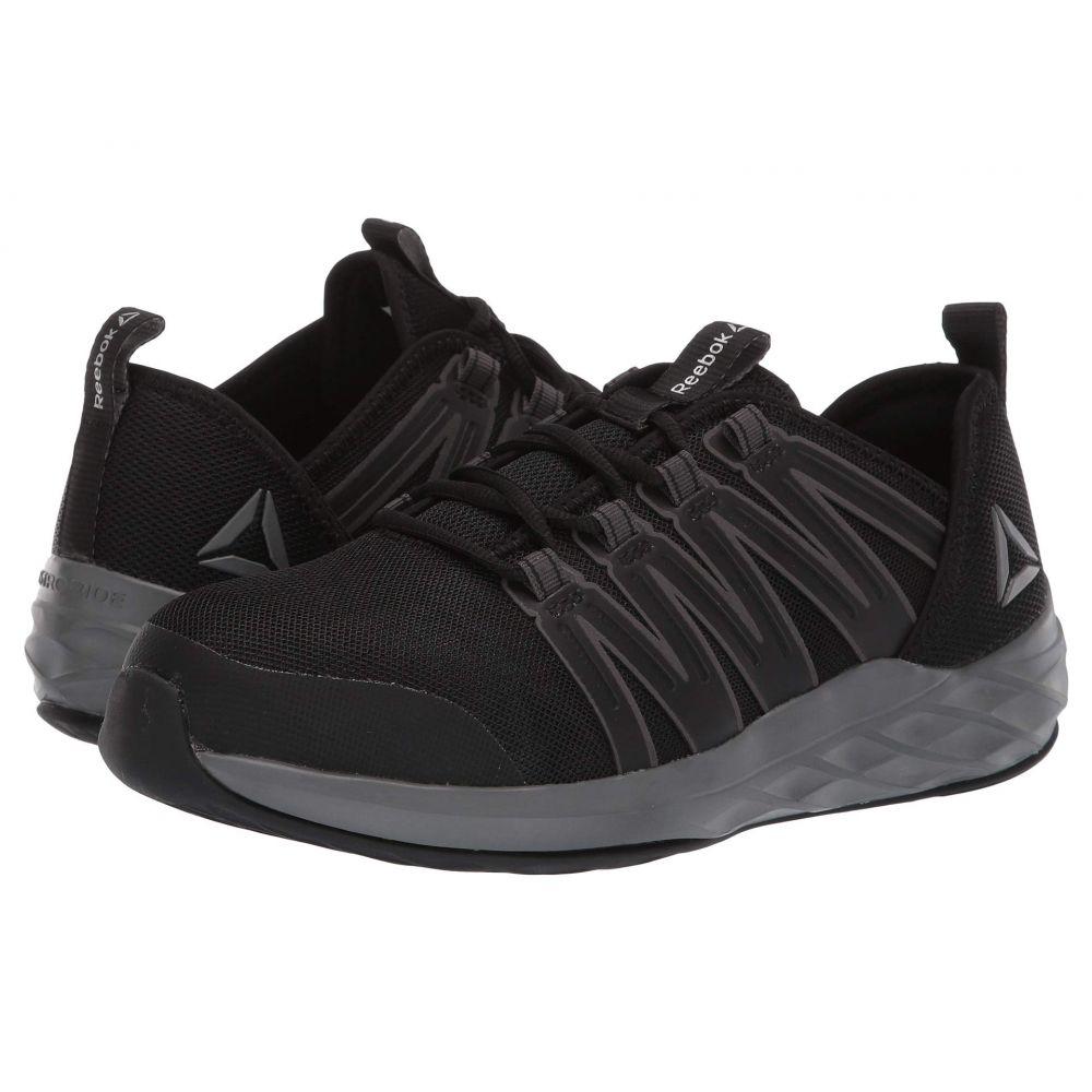 リーボック Reebok Work レディース シューズ・靴【Astroride Work】Black/Dark Grey