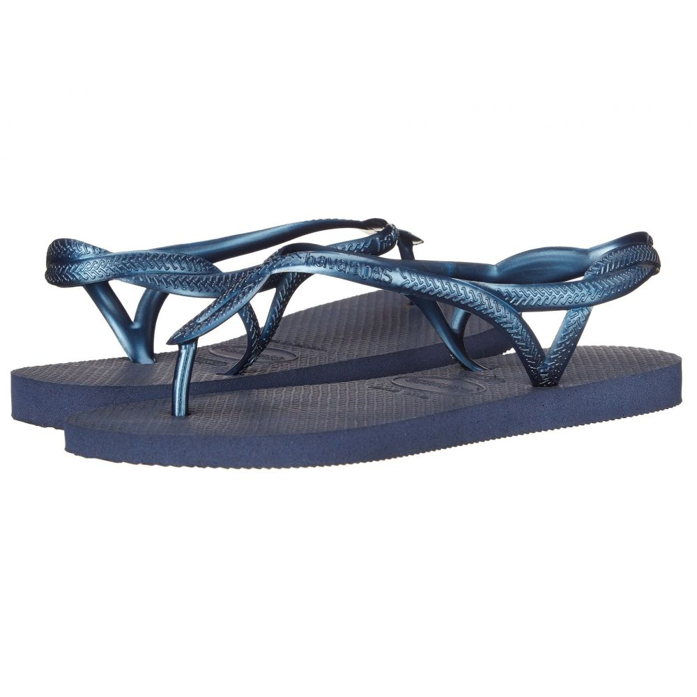 ハワイアナス Havaianas レディース シューズ・靴 ビーチサンダル【Luna Flip Flops】Navy Blue