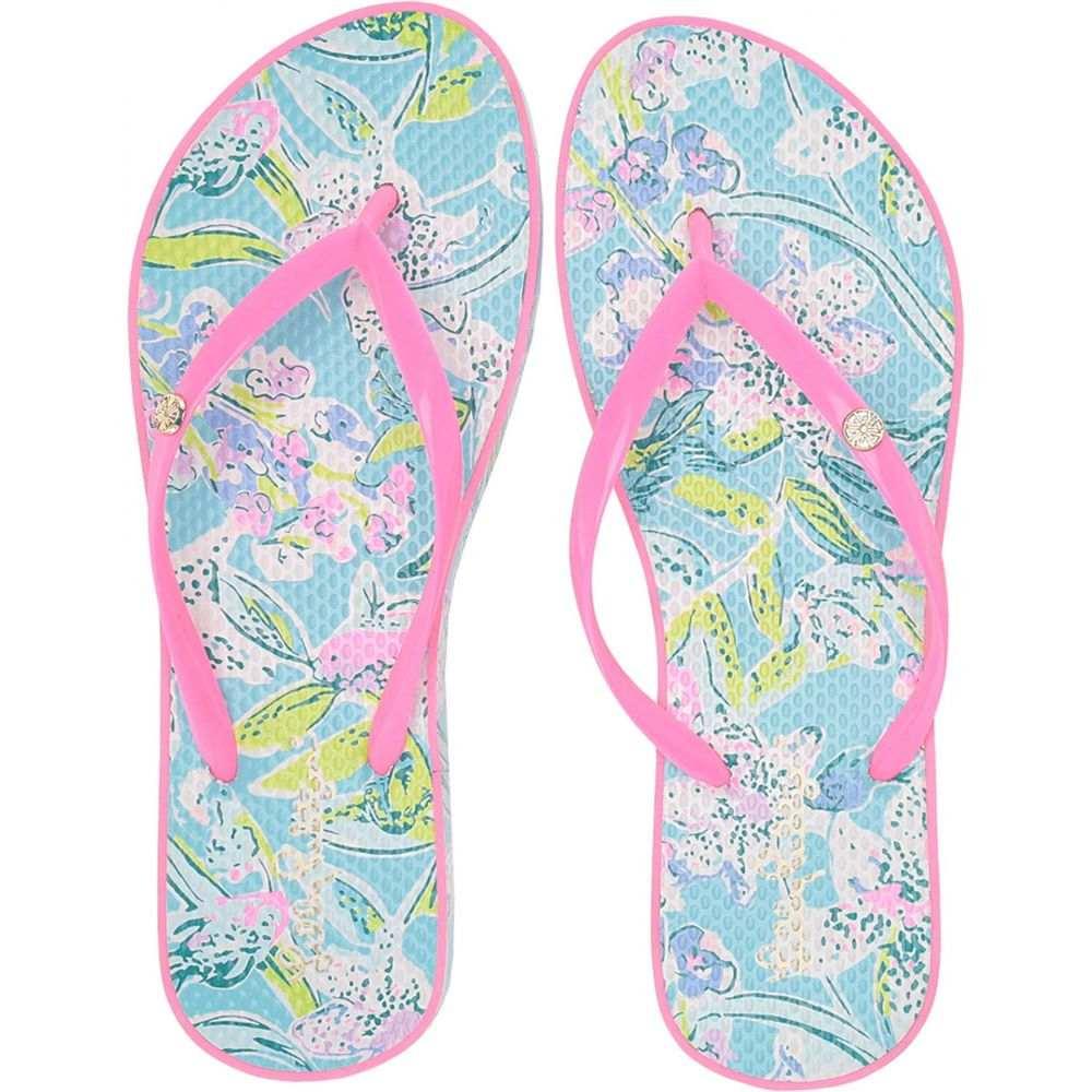 レディース リリーピュリッツァー Pulitzer Blue シューズ・靴 Flip-Flop】Bali Lilly ビーチサンダル【Pool