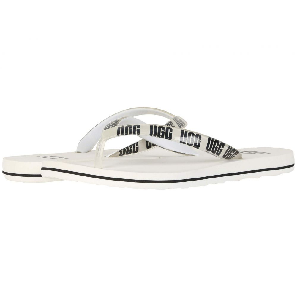 アグ UGG レディース シューズ・靴 ビーチサンダル【Simi Graphic】White