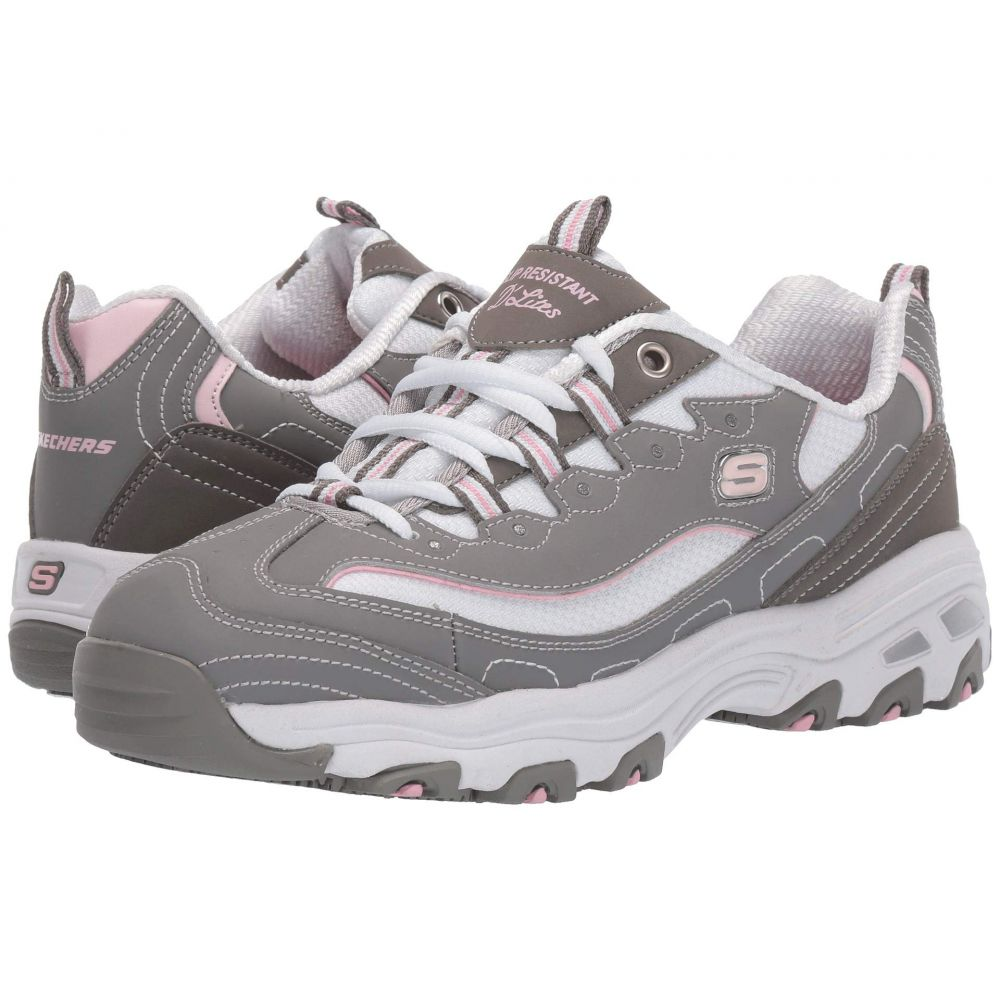 スケッチャーズ SKECHERS Work レディース シューズ・靴【D'Lites SR Health Care Pro - Relaxed Fit】Gray