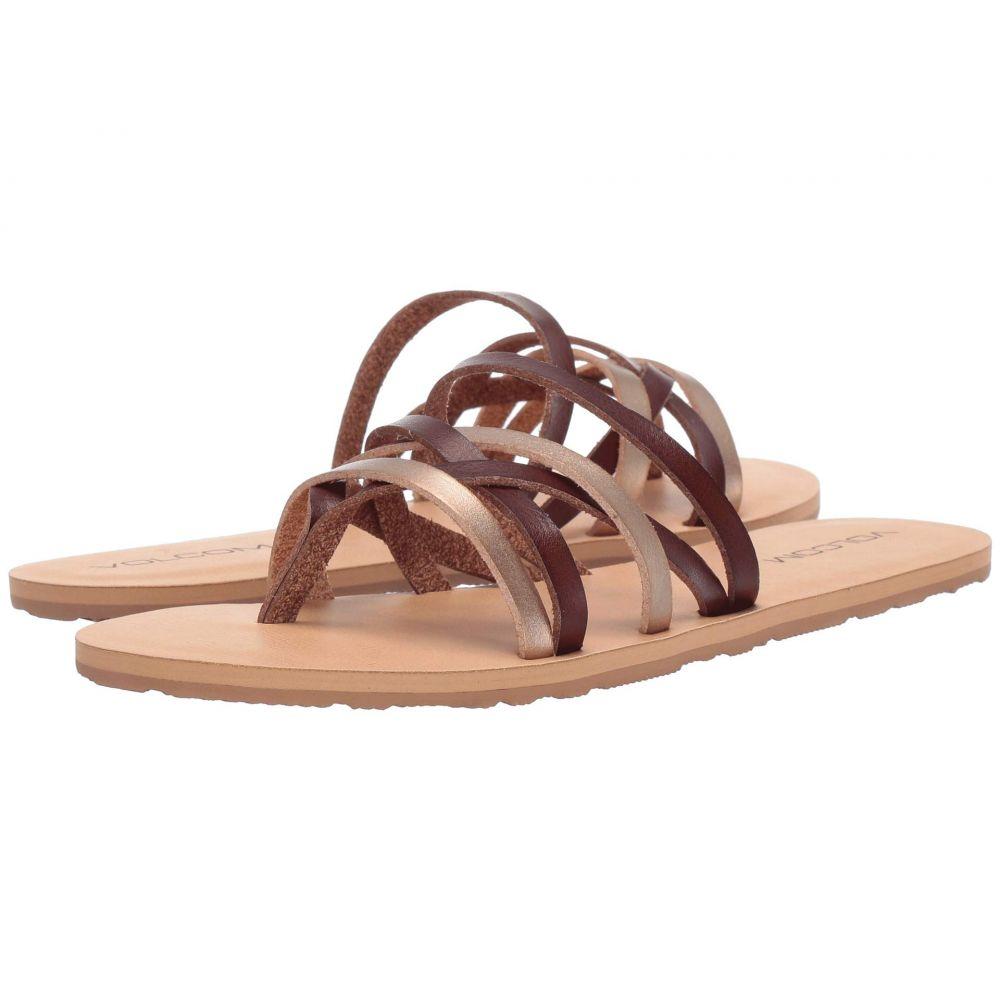 ボルコム Volcom レディース シューズ・靴 ビーチサンダル【Legacy】Copper