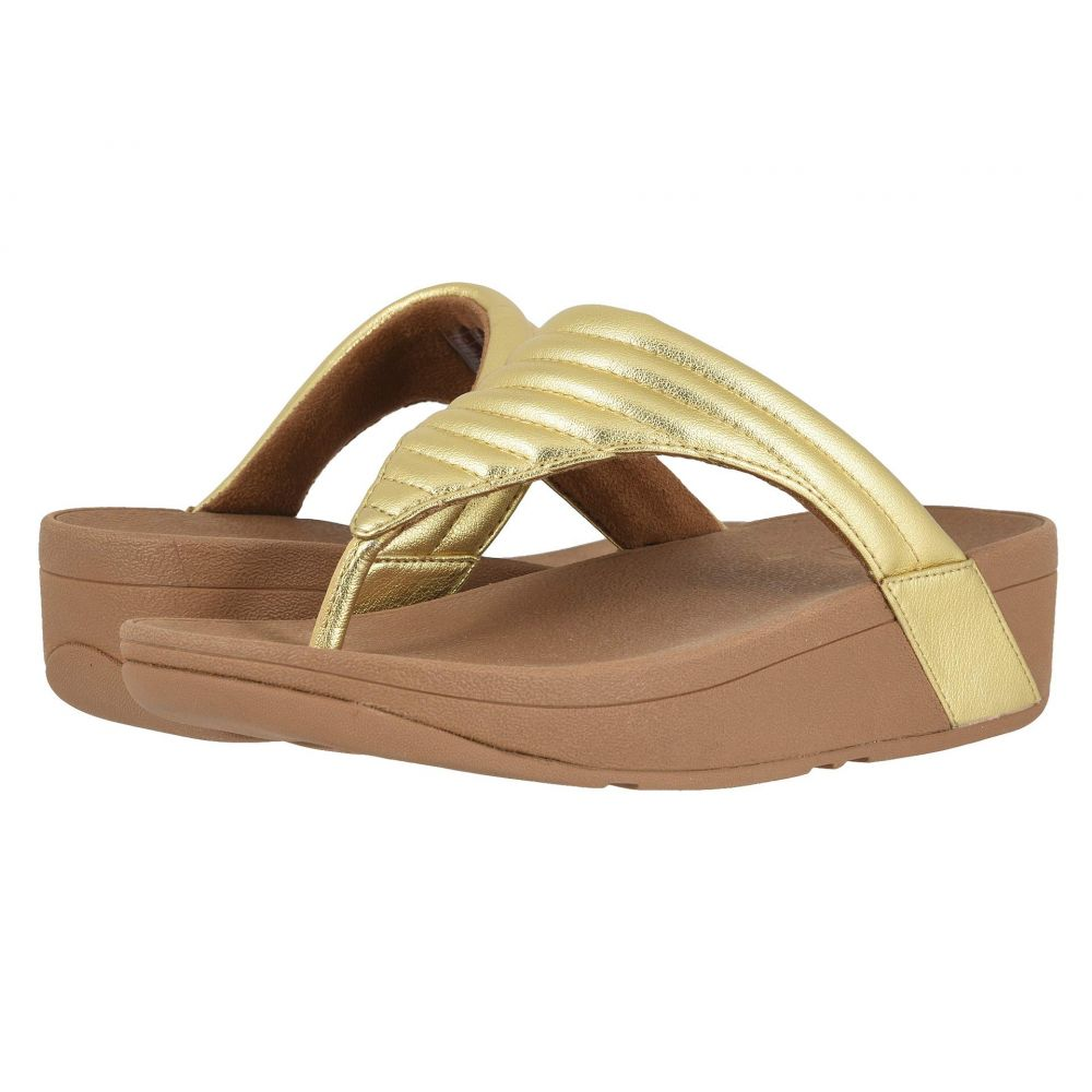 フィットフロップ FitFlop レディース シューズ・靴 ビーチサンダル【Lottie Padded】Artisan Gold/Chipmunk