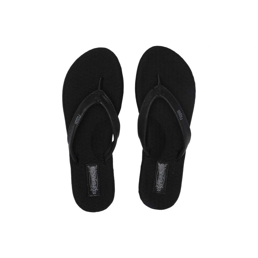 フロジョス Flojos レディース シューズ・靴 ビーチサンダル【Ruth】Black/Black