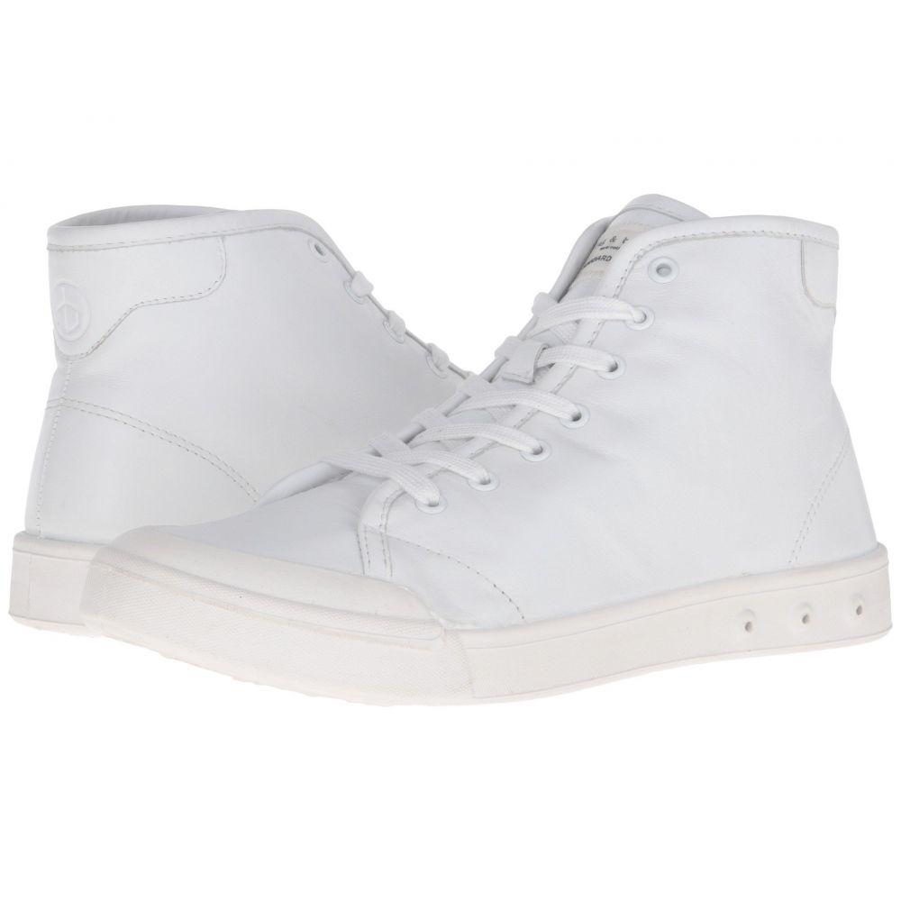 ラグ&ボーン rag & bone メンズ シューズ・靴 スニーカー【Standard Issue Leather High Top】White