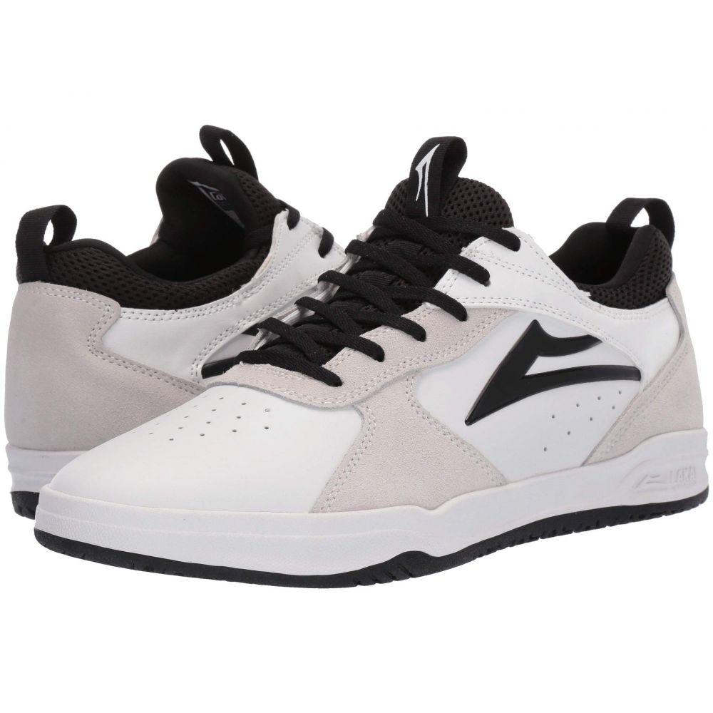 ラカイ Lakai メンズ シューズ・靴 スニーカー【Proto】White/Black Suede 1