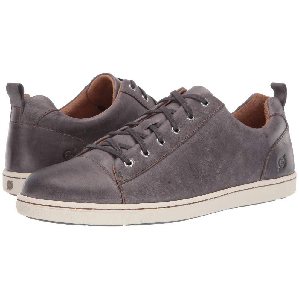 ボーン Born メンズ シューズ・靴 スニーカー【Allegheny】Grey Full Grain Leather