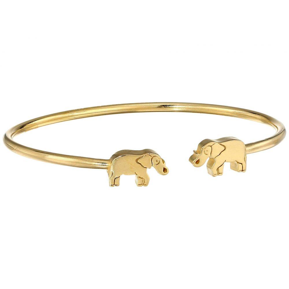 アレックス アンド アニ Alex and Ani レディース ジュエリー・アクセサリー ブレスレット【Elephant Cuff - Precious Metal】14KT Gold Plated