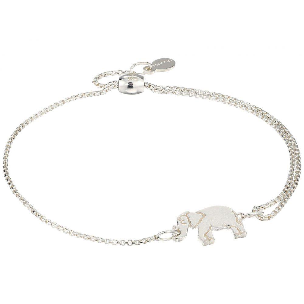アレックス アンド アニ Alex and Ani レディース ジュエリー・アクセサリー ブレスレット【Elephant Pull Chain Bracelet - Precious Metal】Sterling Silver