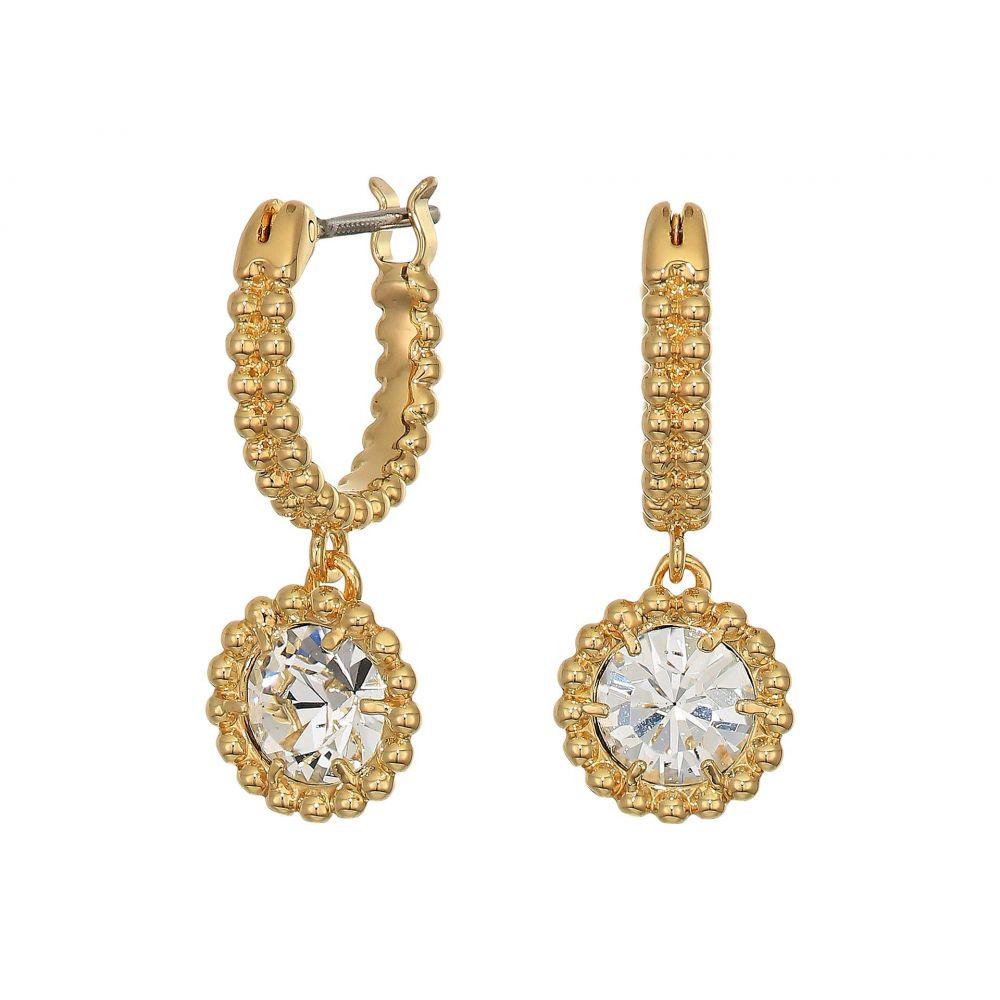 スワロフスキー Swarovski レディース ジュエリー・アクセサリー イヤリング・ピアス【Oxygen Pierced Earrings】White/Gold Plating