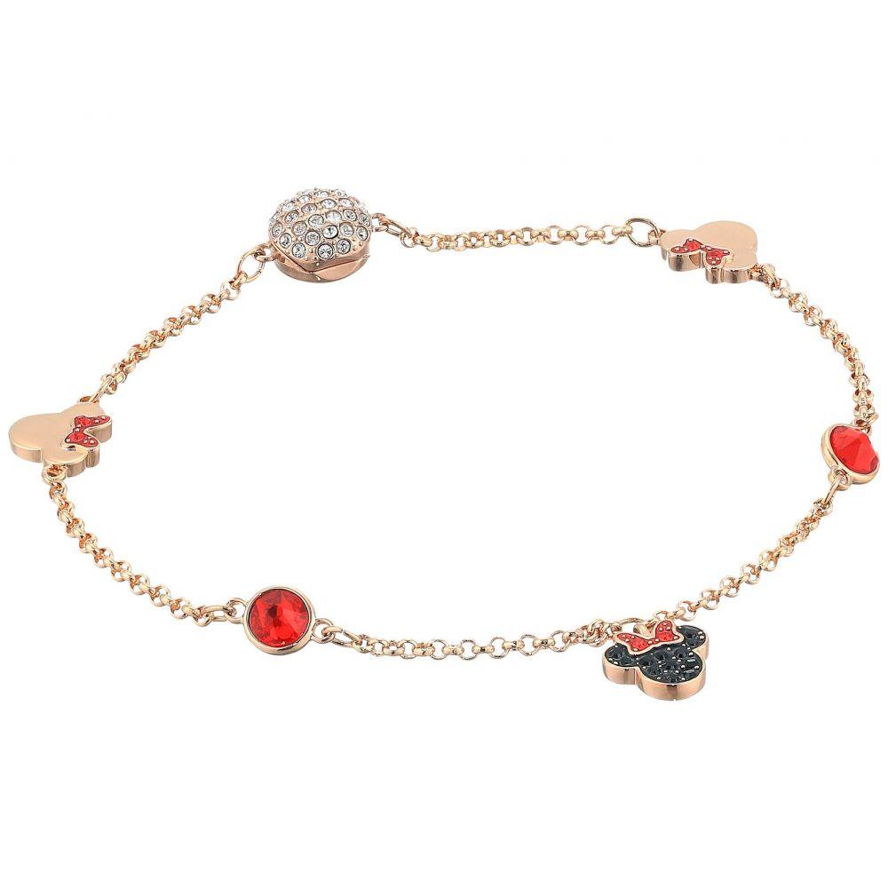スワロフスキー Swarovski レディース ジュエリー・アクセサリー ブレスレット【Remix Collection Minnie Strand Charm Bracelet】Rose Gold/Rose Gold Shiny Plating