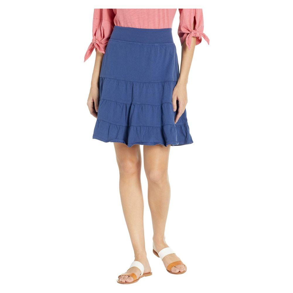フレッシュプロデュース Fresh Produce レディース スカート【Jersey Tiered Skirt】Moonlight Blue