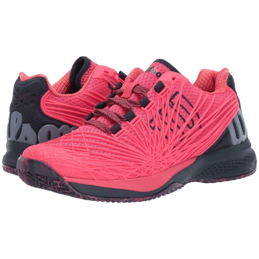 ウィルソン Wilson レディース テニス シューズ・靴【Kaos 2.0】Paradise Pink/Blueberry/Flint Stone