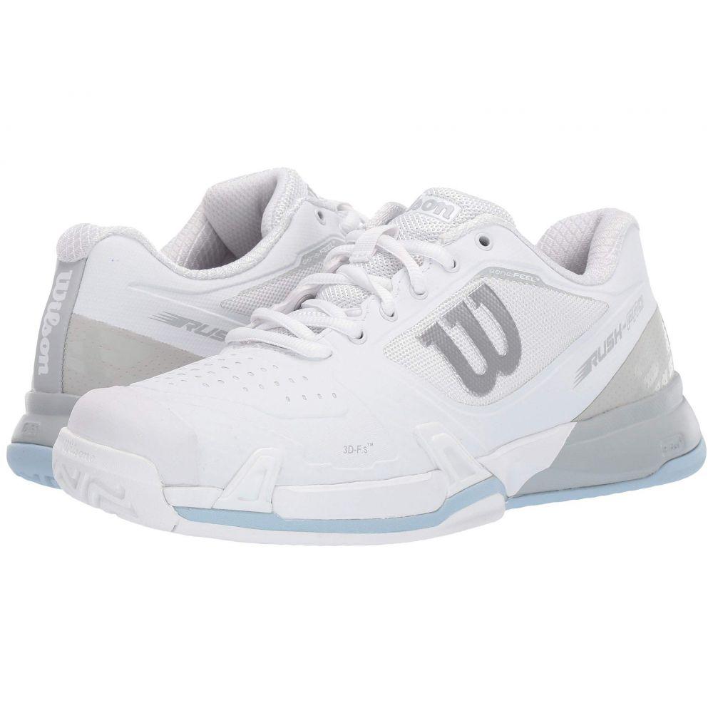 ウィルソン Wilson レディース テニス シューズ・靴【Rush Pro 2.5 2019】White/Pearl Blue/Cashmere Blue