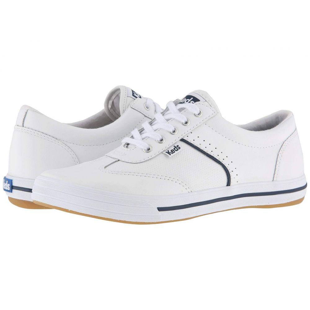 ケッズ Keds レディース テニス シューズ・靴【Courty Leather】White