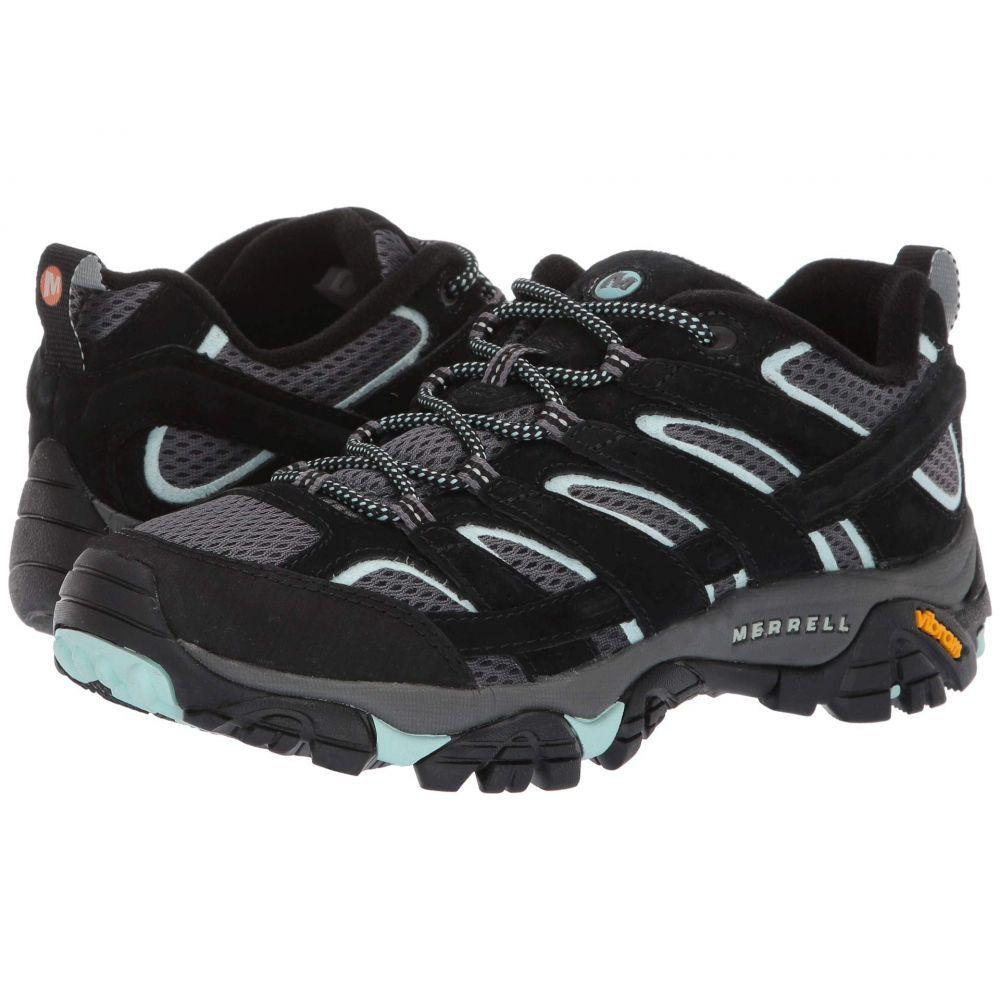 メレル Merrell レディース ハイキング・登山 シューズ・靴【Moab 2 Vent】Black Aqua