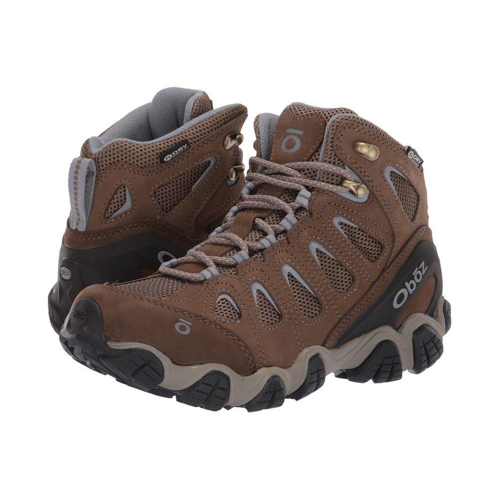 オボズ Oboz レディース ハイキング・登山 シューズ・靴【Sawtooth II Mid B-Dry】Brindle/Tradewinds Blue