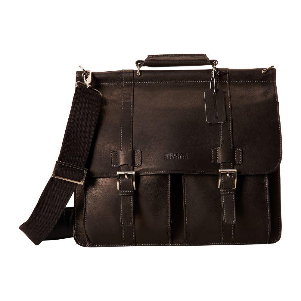 ケネス コール Kenneth Cole Reaction レディース バッグ パソコンバッグ【Colombian Leather - Dowel Rod/Portfolio Computer Case】Black