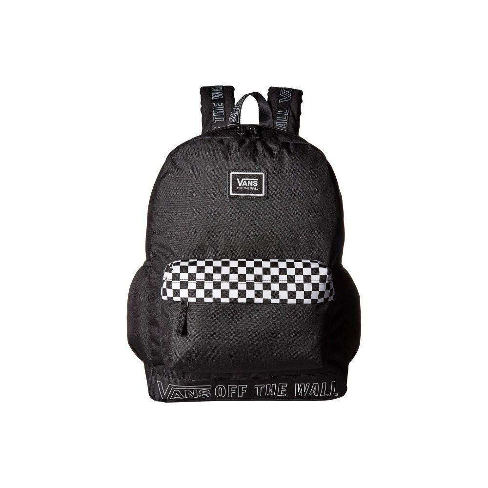 ヴァンズ Vans レディース バッグ バックパック・リュック【Sporty Realm Plus Backpack】Black/Surround