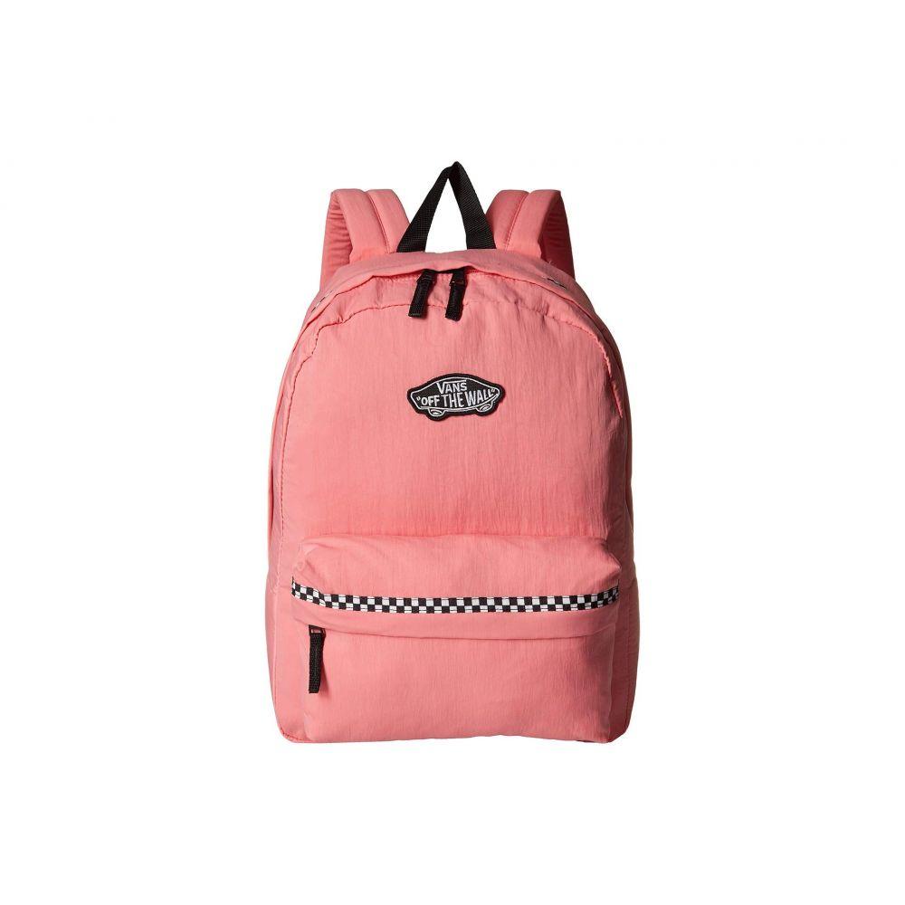 ヴァンズ Vans レディース バッグ バックパック・リュック【Expedition II Backpack】Strawberry Pink/Microcheck