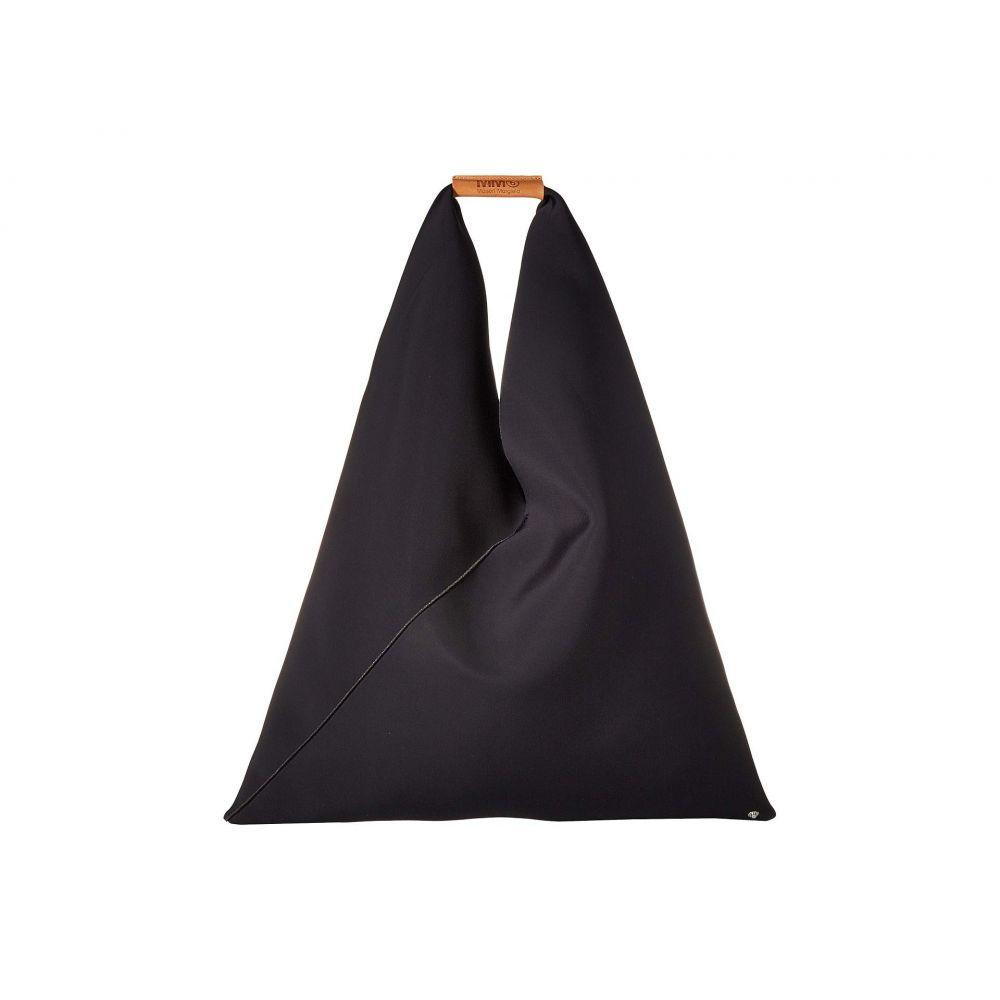 メゾン マルジェラ MM6 Maison Margiela レディース バッグ トートバッグ【Neoprene Triangle Bag】Black Neoprene