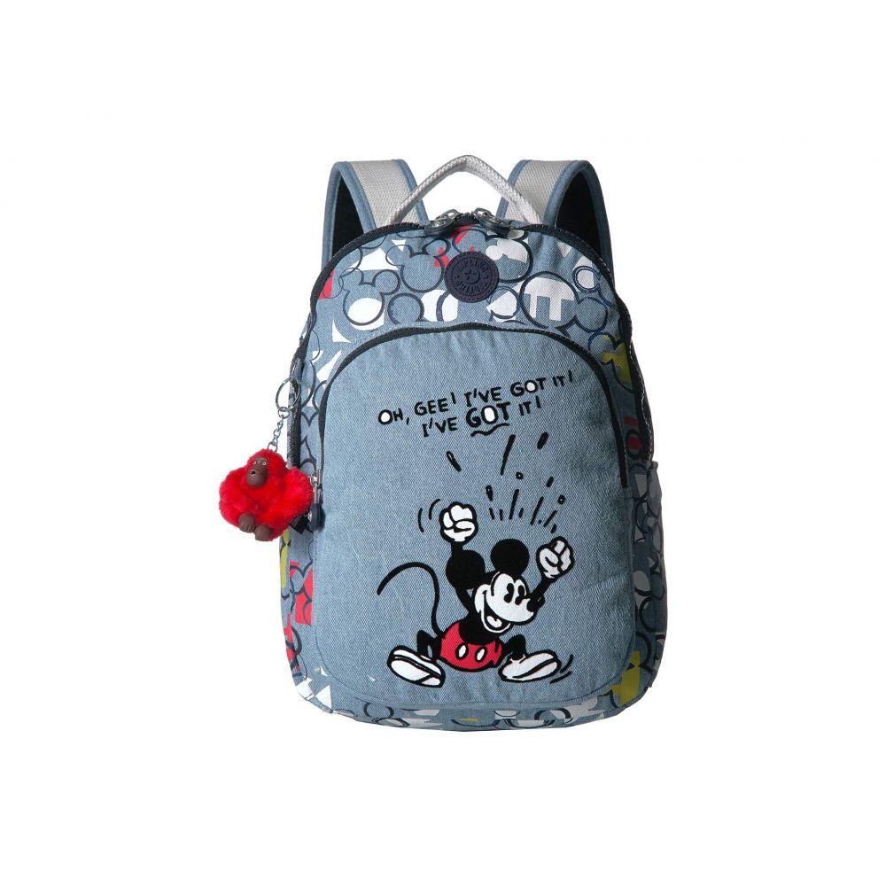 キプリング Kipling レディース バッグ バックパック・リュック【Disney Mickey Mouse Seoul S Backpack】Three Cheers