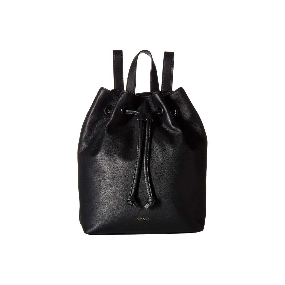 ステイト STATE Bags レディース バッグ バックパック・リュック【Ash】Black