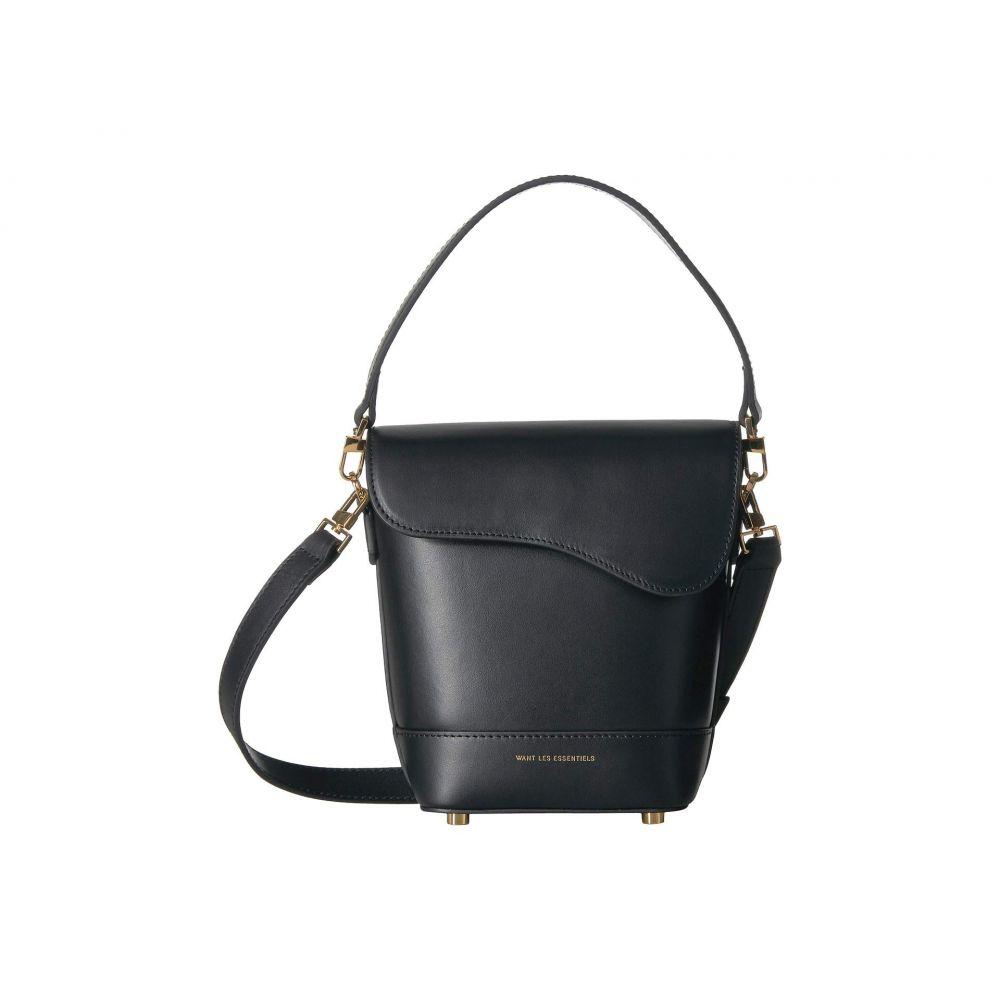 ウォント レス エッセンシャル WANT Les Essentiels レディース バッグ ハンドバッグ【Corbusier Bucket Bag】Jet Black