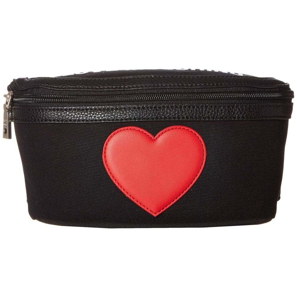 モスキーノ LOVE Moschino レディース バッグ ボディバッグ・ウエストポーチ【Canvas Belt Bag】Black