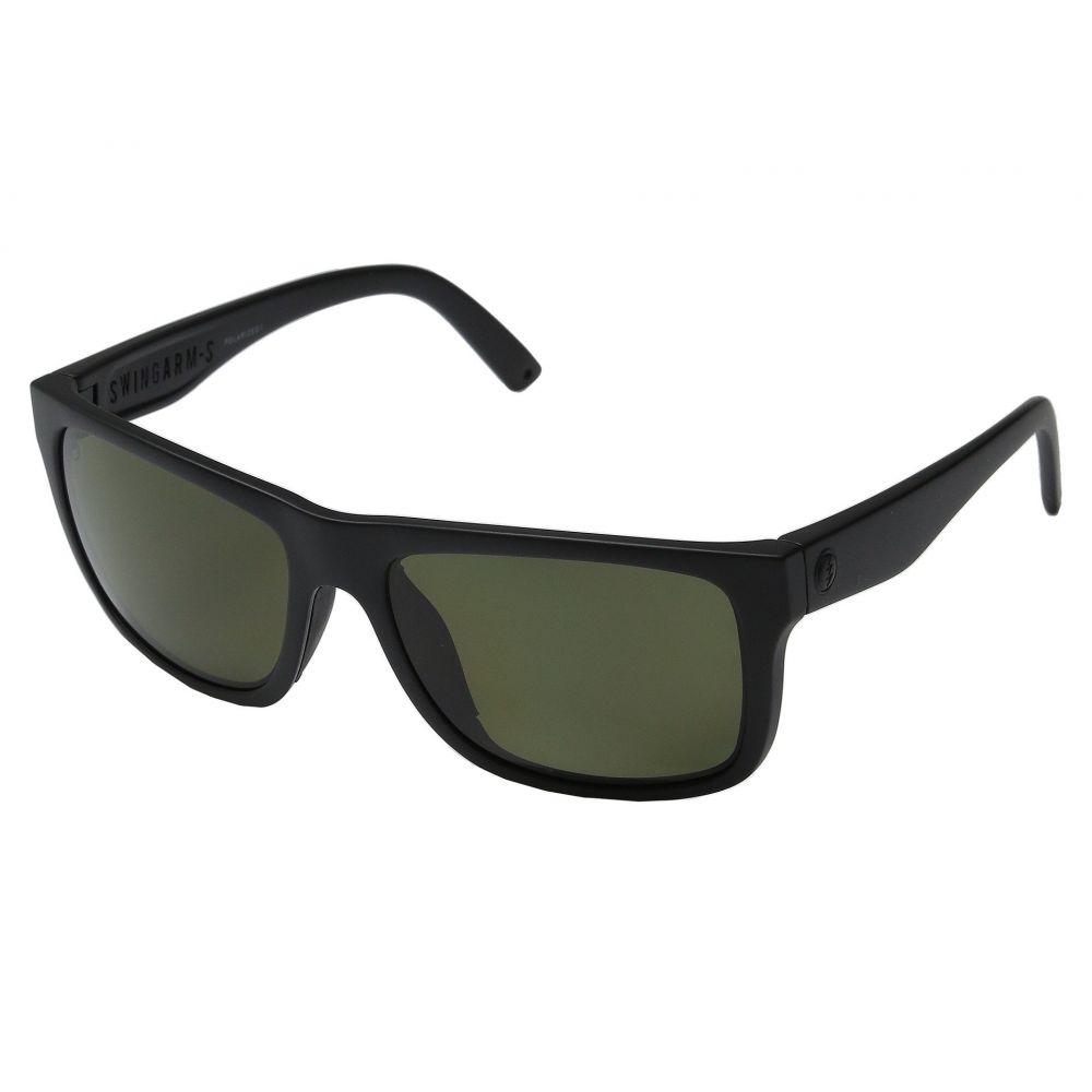 エレクトリック Electric Eyewear レディース メガネ・サングラス【Swingarm S Polarized】Matte Black/OHM Grey Polarized