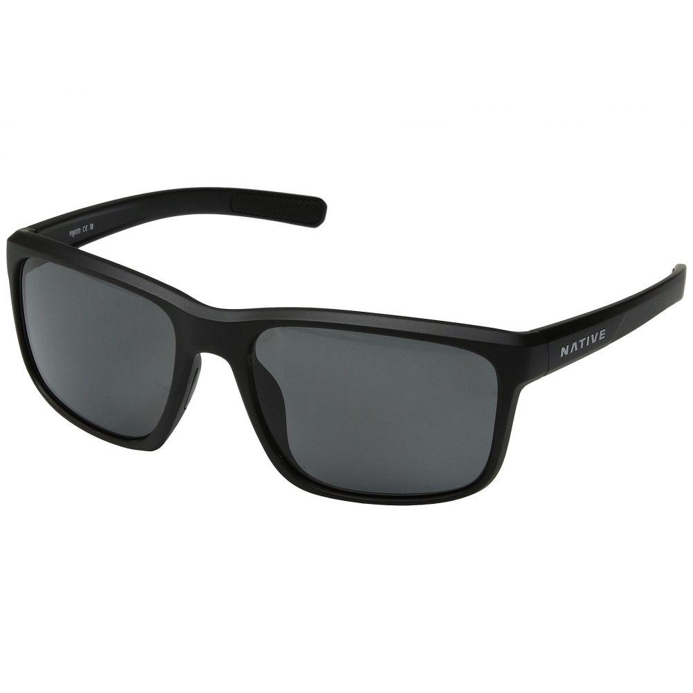 ネイティブアイウェア Native Eyewear レディース メガネ・サングラス【Wells】Matte Black Crystal/Gray Polarized Lens