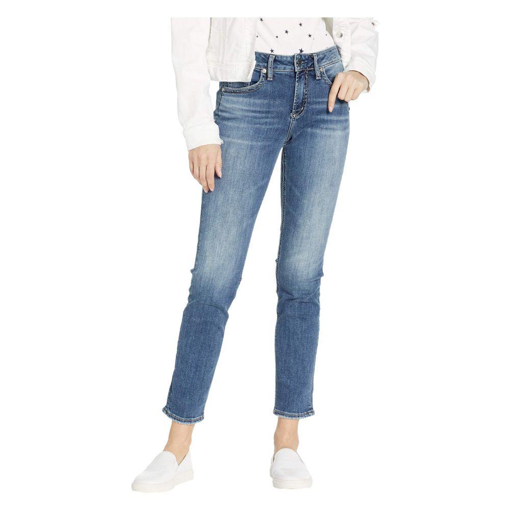 シルバー ジーンズ Silver Jeans Co. レディース ボトムス・パンツ ジーンズ・デニム【Avery High-Rise Curvy Fit Slim Leg Jeans in Indigo】Indigo