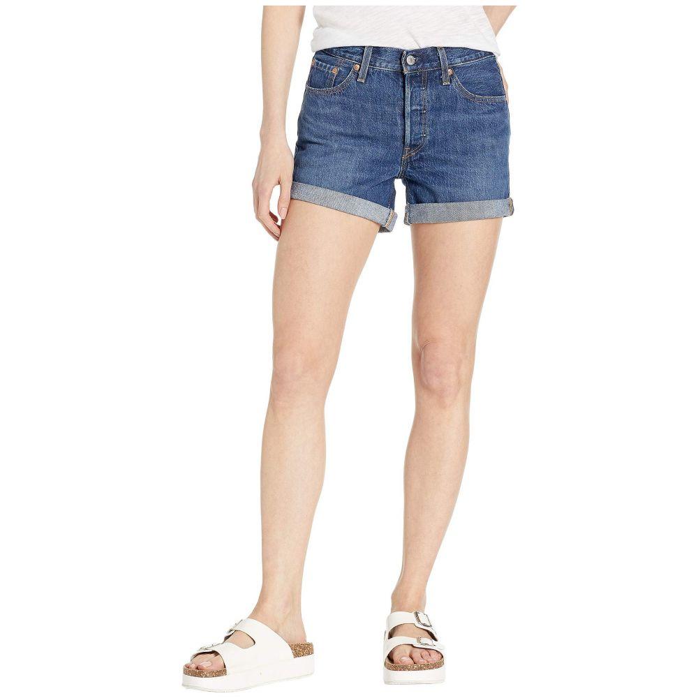 リーバイス Levi's Premium レディース ボトムス・パンツ ショートパンツ【501 Long Shorts】Blue Clue