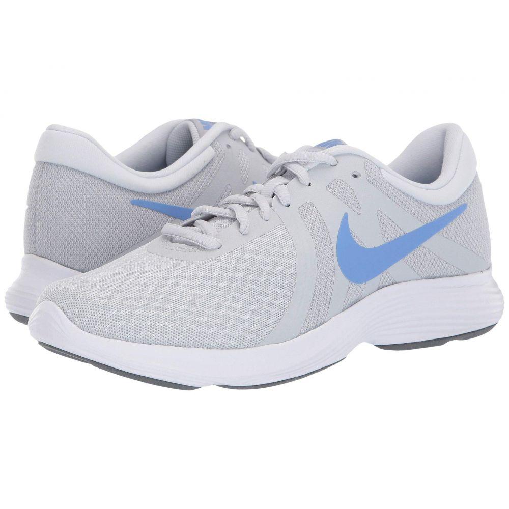 ナイキ Nike レディース ランニング・ウォーキング シューズ・靴【Revolution 4】Pure Platinum/Royal Pulse/Wolf Grey
