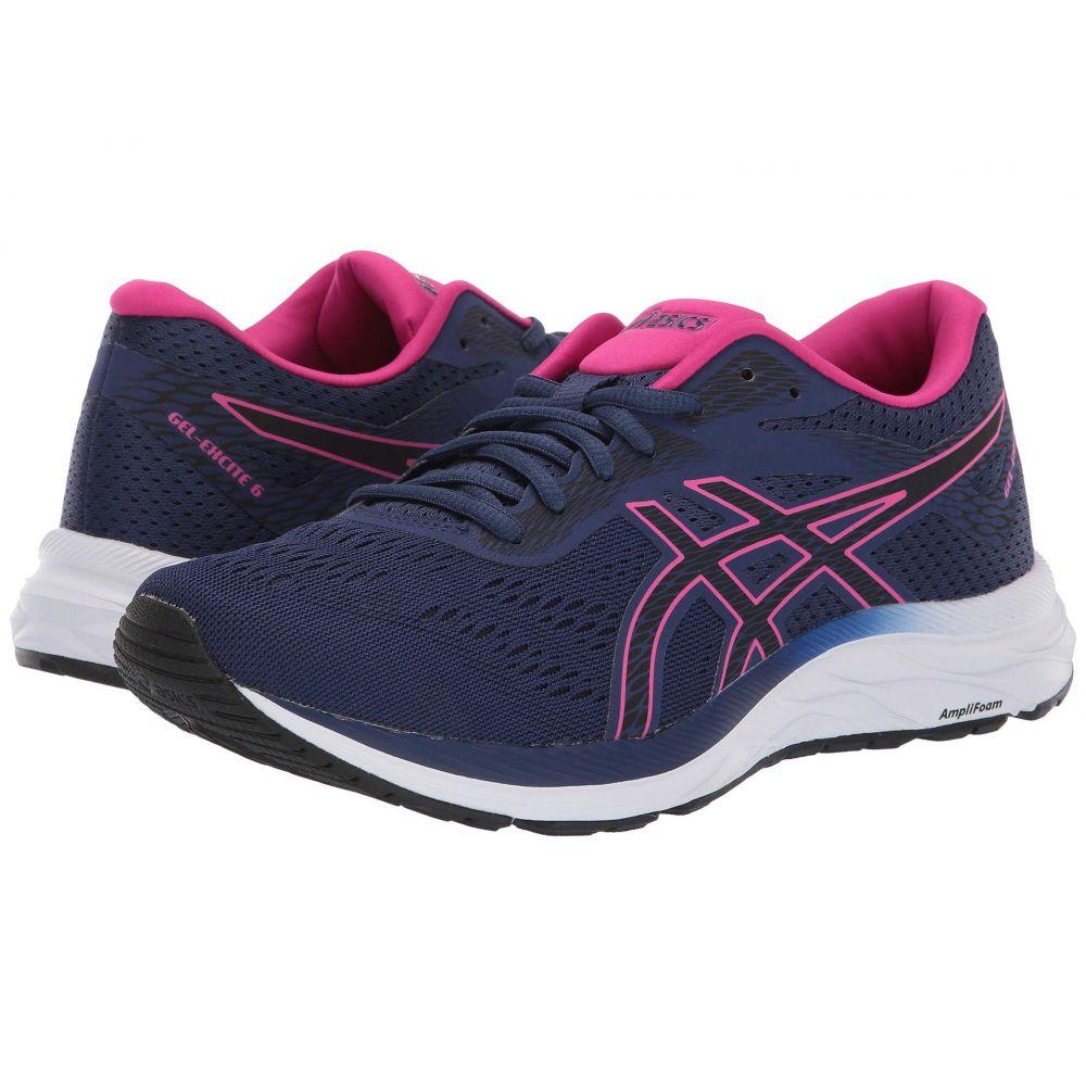 アシックス ASICS レディース ランニング・ウォーキング シューズ・靴【GEL-Excite 6】Indigo Blue/Pink Rave